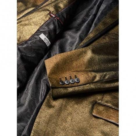 Adolfo Men's Sparkle Velvet Sport Coat