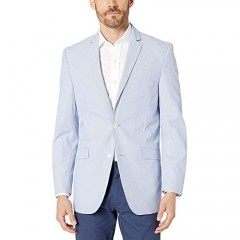 Adolfo Men's Updated Classic Spring Summer Jacket-Portly Fit