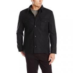 Haggar Men's Eastland Button-Front Jacket