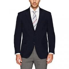 Louis Raphael Men's Slim Fit Two Button Side Vent Jacket