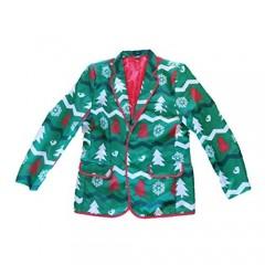 Men's Christmas Starlight Colorful Polyester Blazer