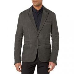 ROGUE Men's Two Button Plaid Blazer