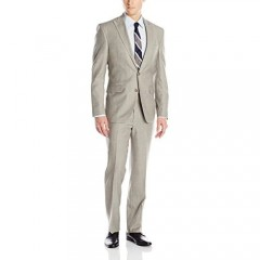Kenneth Cole New York mens Slim Fit 2 Button Suit With Side Vent