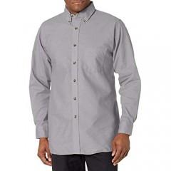 Red Kap Men's Poplin Dress Shirt