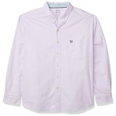 Chaps Men's Regular-fit Long Sleeve Performance Cotton Oxford Shirt