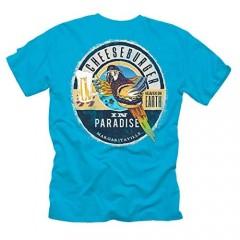 Margaritaville Men's Cheeseburger in Paradise Graphic Short Sleeve T-Shirt