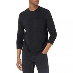 PAIGE Men's Bower Slub Long Sleeve Crewneck T-Shirt