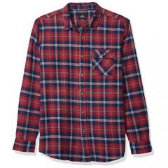 Rip Curl Men's Big Boys' Salt Water Culture Check Long Sleeve Shirt