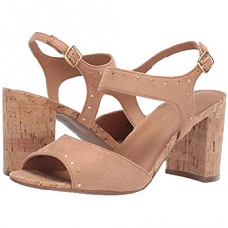 Aerosoles - Women's High Point Sandal - Heeled Peep Toe Sandal with Memory Foam Footbed