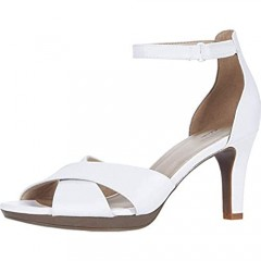 Clarks Adriel Cove White Leather 10