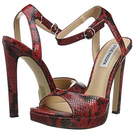 Steve Madden Girl's T-Strap Heeled Sandal