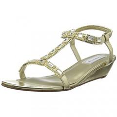 Touch Ups Jazz Wedge Sandal Style Jazz Gold 9.5W