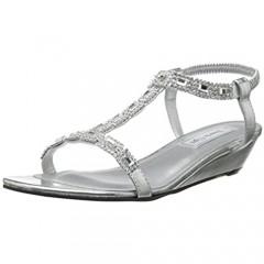 Touch Ups Jazz Wedge Sandal Style Jazz Silver 7.5W