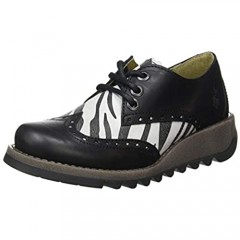 Fly London Women's SUME524FLY Oxford Black/OFFWHITE