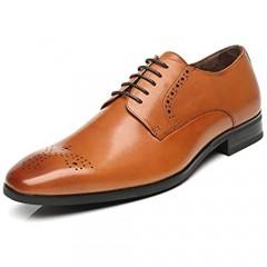 Oxford Dress Shoes for Men - Business Lace up Oxfords Shoes Casual Formal Shoes