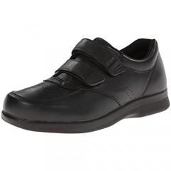 Propet Men's Vista Strap Shoe Black 10 5E US