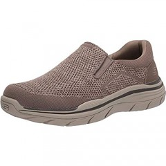 Skechers Men's Relaxed Fit: Expected 2.0 - Arago Loafer Taupe 8.5 WW