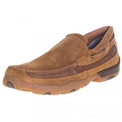 Twisted X Boots Mens Suede Slip On Casual Shoe
