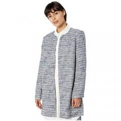 Karl Lagerfeld Paris Women's Long Sleeve Tweed Topper Jacket