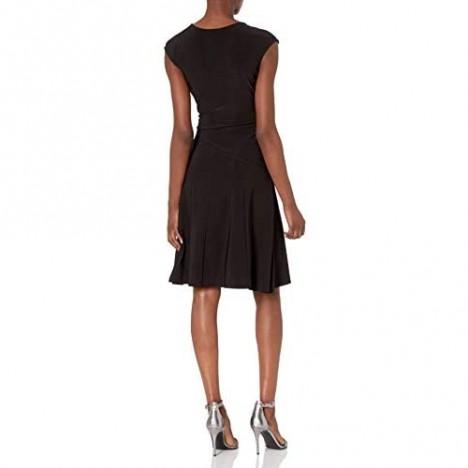 NIC+ZOE Women's Faux-Wrap Dress