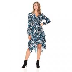 Parker Women's Estella Long Sleeve Button Midi Dress