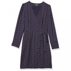Sam Edelman Women's Geo Print Faux Wrap Dress